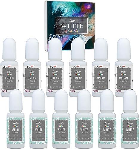 Limino Tinte de Resina epoxi - Tinte líquido de Pigmento de Resina epoxi - Colorante de Resina epoxi de Alta concentración para Arte de Resina