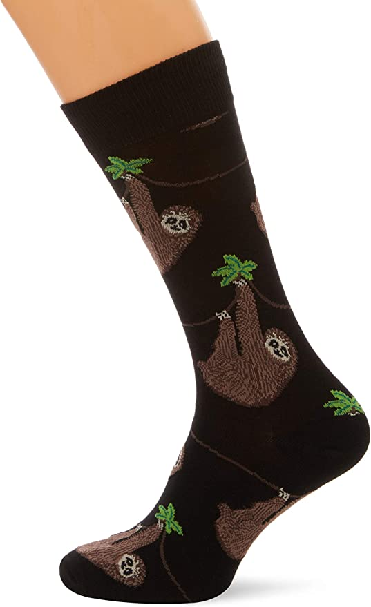Sloth Mens Crew Socks