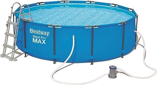 Bestway Steel Pro MAX - Piscina para Exteriores (Acero), Color ...
