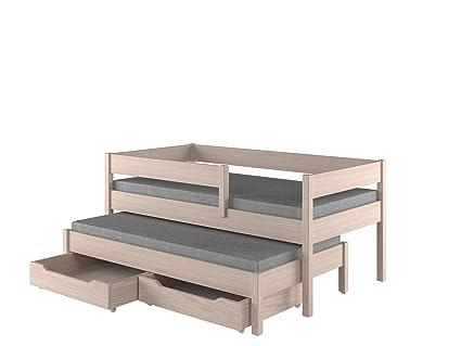 Childrens Beds Home Cama Nido para niños Colchones Junior ...
