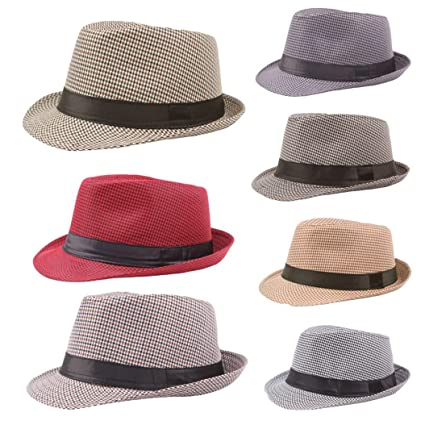 Amazon.com   Fedora Hats for Men cd7a558f82f