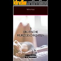 3 erotische Kurzgeschichten: Sexgeschichten ab 18 unzensiert (Erotik Kindle deutsch, kurze Geschichten für zwischendurch, Erotik eBook deutsch , Erotik deutsch, Sex Erotik deutsch ab 18)