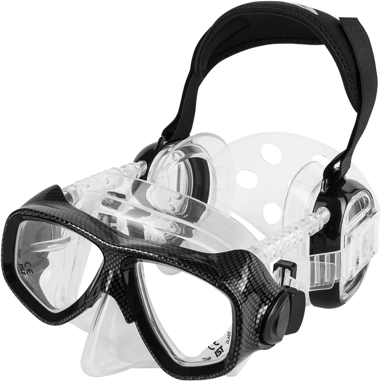 The Early Grades Are Key To Equalizing >> Ist Pro Ear Scuba Diving Mask For All Around Ear Protection Rx Prescription Available