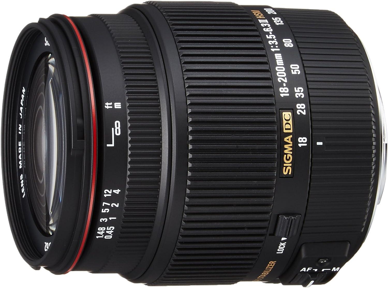 Sigma 18-200mm F3.5-6.3 II DC OS HSM Lens for Sigma SLR Camera