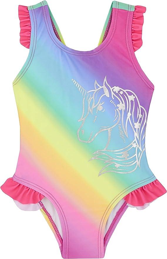 Baby Town Babytown Badeanzug mit Einhorn-Motiv