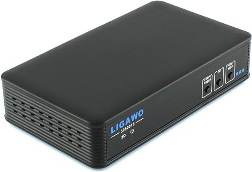 Ligawo 3050013 YPbPr a componente de vídeo al convertidor de HDMI / 2D a 3D / Escalador: Amazon.es: Electrónica