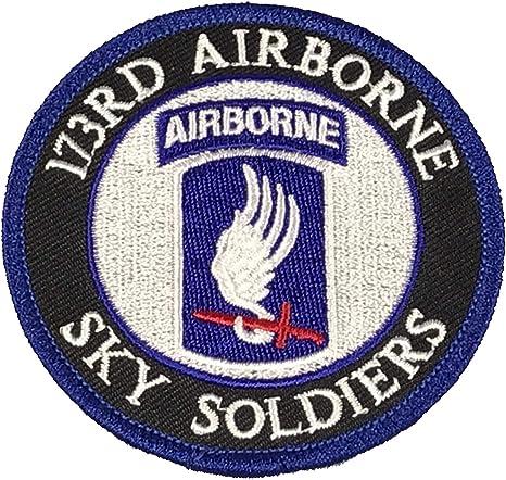 ARMY AUFNÄHER PATCH 173RD AIRBORNE BRIGADE COLOR NEU ORIGINAL U.S