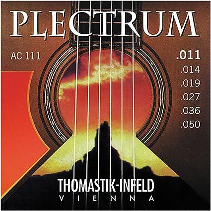 CUERDAS GUITARRA ACUSTICA - Thomastik (AC/111) Plectrum (Juego ...