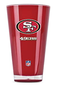 NFL San Francisco 49Ers 20oz Insulated Acrylic Tumbler