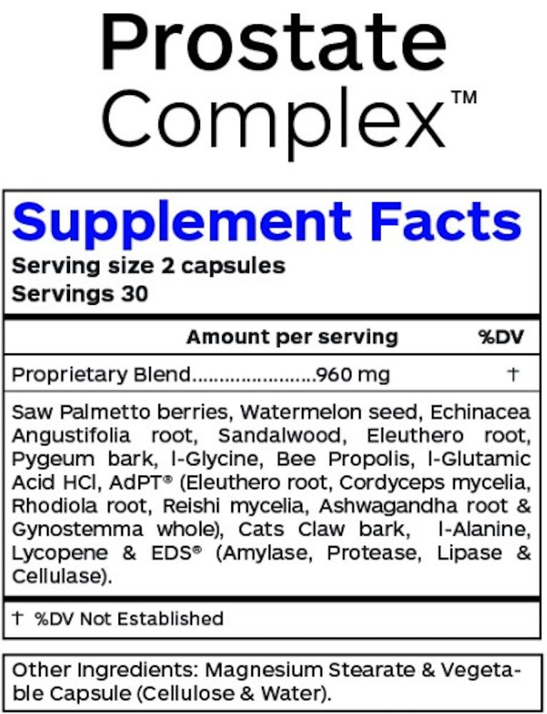 Professional Botanicals - Saw Palmetto Prostate Complex - Supports Bladder & Urinary Health - 60 Vegetarian Capsules