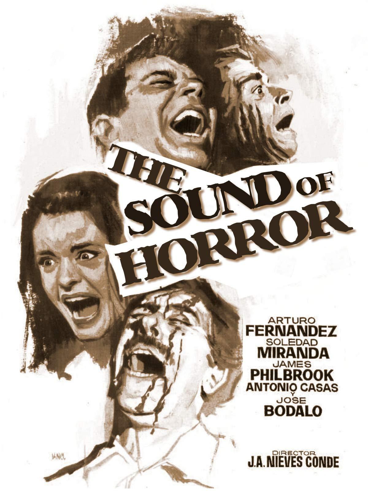 El sonido de la muerte Cult Horror movie poster print Sound of Horror 1964