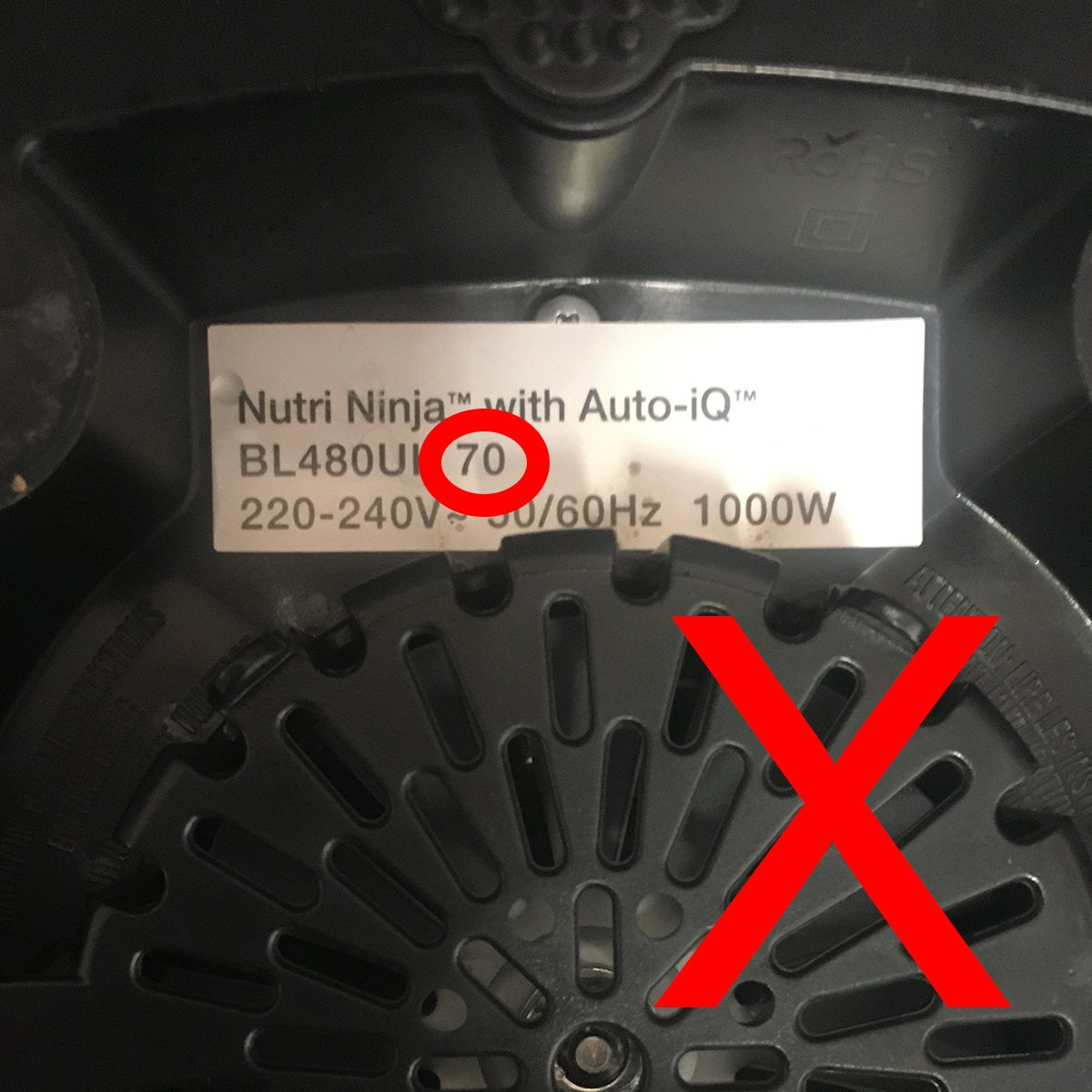 Nutri Ninja Pro Cuchillas extraíbles Estándar: Amazon.es: Hogar