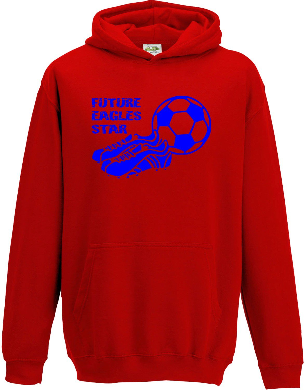 Hat-Trick Designs Crystal Palace Football Baby/Kids/Childrens Hoodie Sweatshirt-Red-Future Star-Unisex Gift