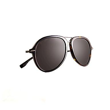 647e7dc392da Hugo Boss 1016/S Dark Havana/Gray Polarized Lens Aviator Men's Sunglasses,  ...