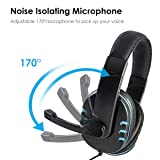 SOONHUA Xbox One,PS4 Gaming Headset with