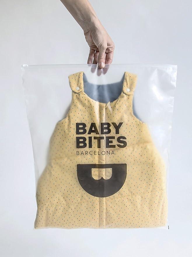 Baby Bites ORIGINAL - Saco tirantes concha CORAL - Modelo VERANO: Amazon.es: Bebé