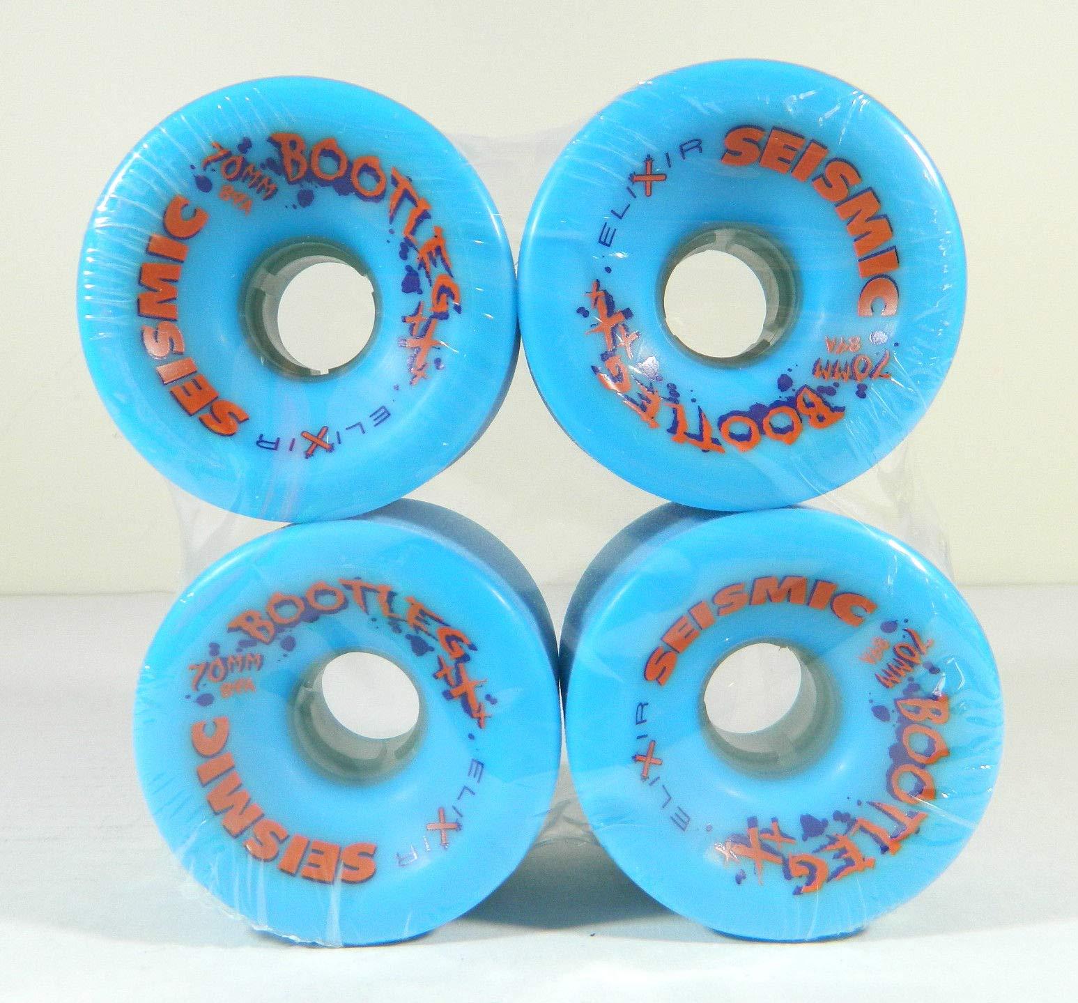 Good Skateboard Elixir 70Mm 84A Longboard Wheels Blue