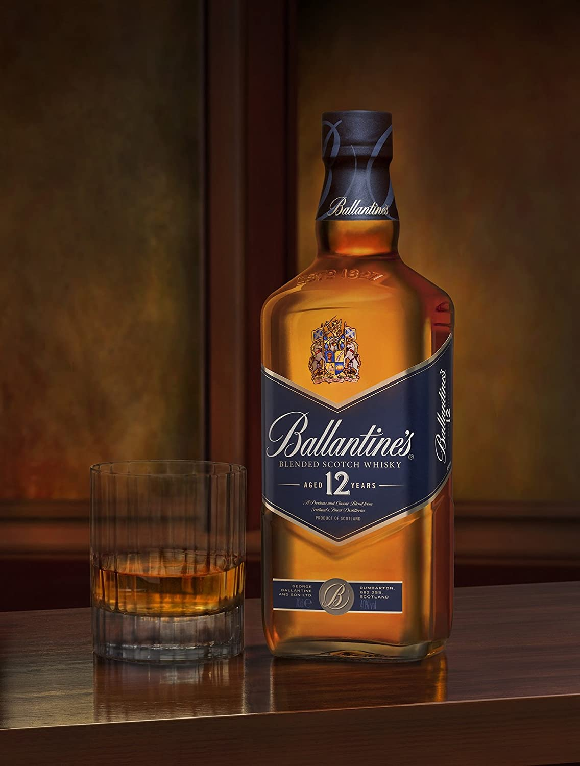 Whisky Ballantines 12 Años Blended Scotch 70cl: Amazon.es: Alimentación y bebidas