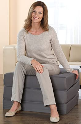 Klappmatratze von Aktivshop als Sitzwürfel