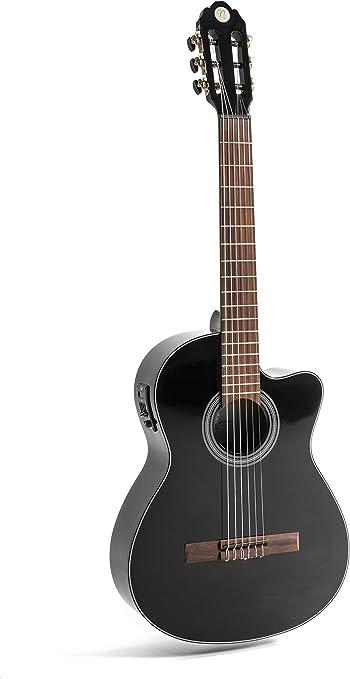 NAVARRA elektro special dark moon NV162, e acoustic guitarra ...
