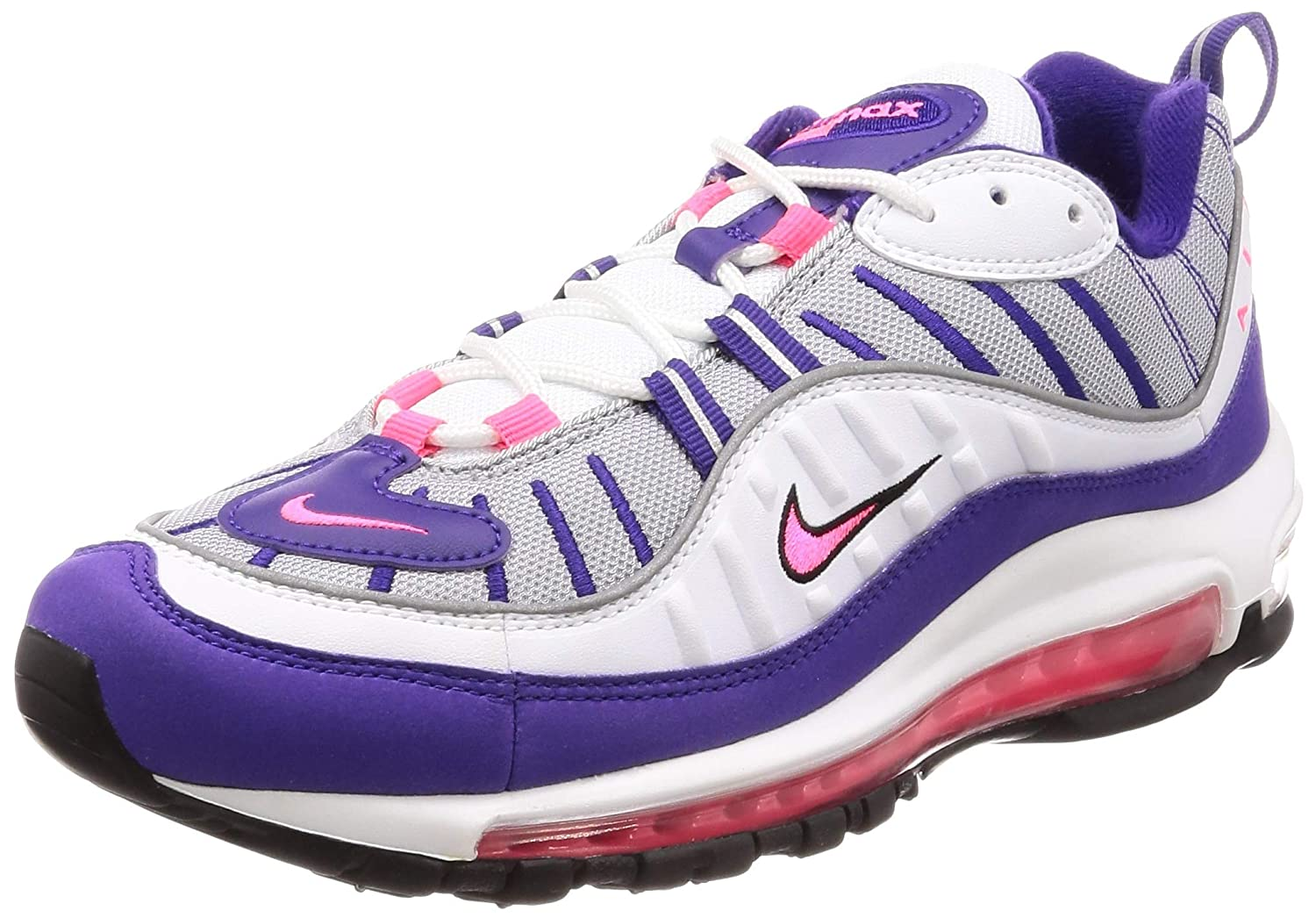 Nike Air Max 98 Women's Shoes WhiteRacer Pink ah6799 110