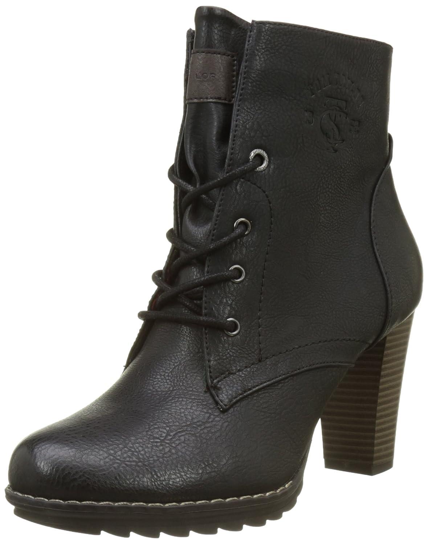 TOM Tailor 3790403 - Botines Mujer37 EU|Schwarz (Black)
