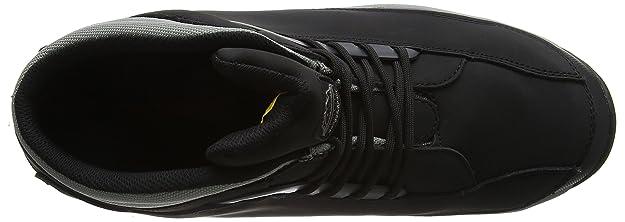 GROUNDWORK GR386 Botas de trabajo para mujer, de piel, con puntera de acero, color negro, talla 37 1/3: Amazon.es: Zapatos y complementos