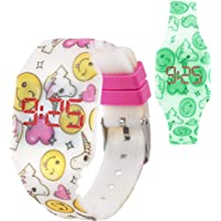 KIDDUS Reloj LED Digital para niña o niño.