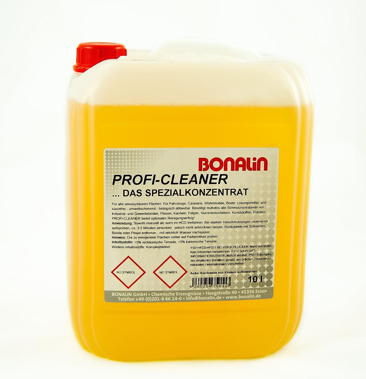Profi Cleaner VOS-Spezialkonzentrat 10 Liter Kanister Bonalin ...