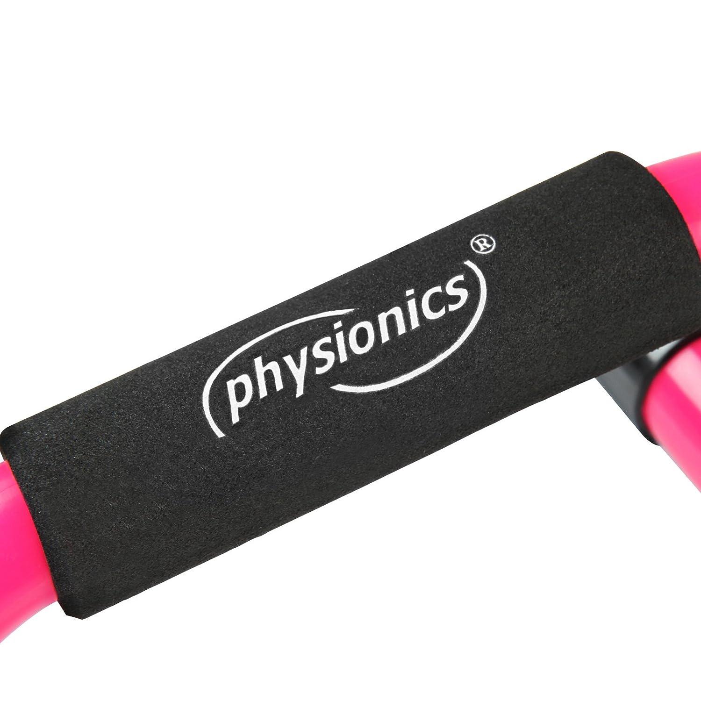 Physionics Liegest/ützgriffe in Pink oder Gr/ün mit max Belastung von 60 kg