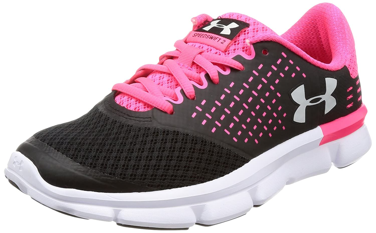 Under Armour Women's Speed Swift 2 Running Shoe B078HK6YGZ 5 B(M) US|Black/Penta Pink