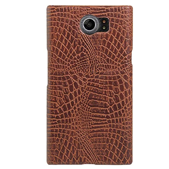 half off bdedc 88ae4 Blackberry Priv Case, HL Brothers Vintage Cases Series, Premium Crocodile  Pattern PU Leather Case Back Cover for Blackberry Priv Smartphone  (Crocodile ...