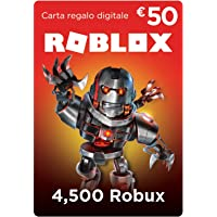 Carta Regalo Roblox - 4,500 Robux