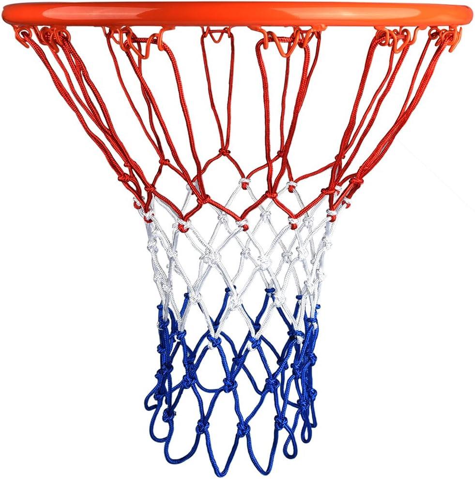 HOGAR AMO Malla de Baloncesto Set de 2 Red de Baloncesto Nylon 4mm ...