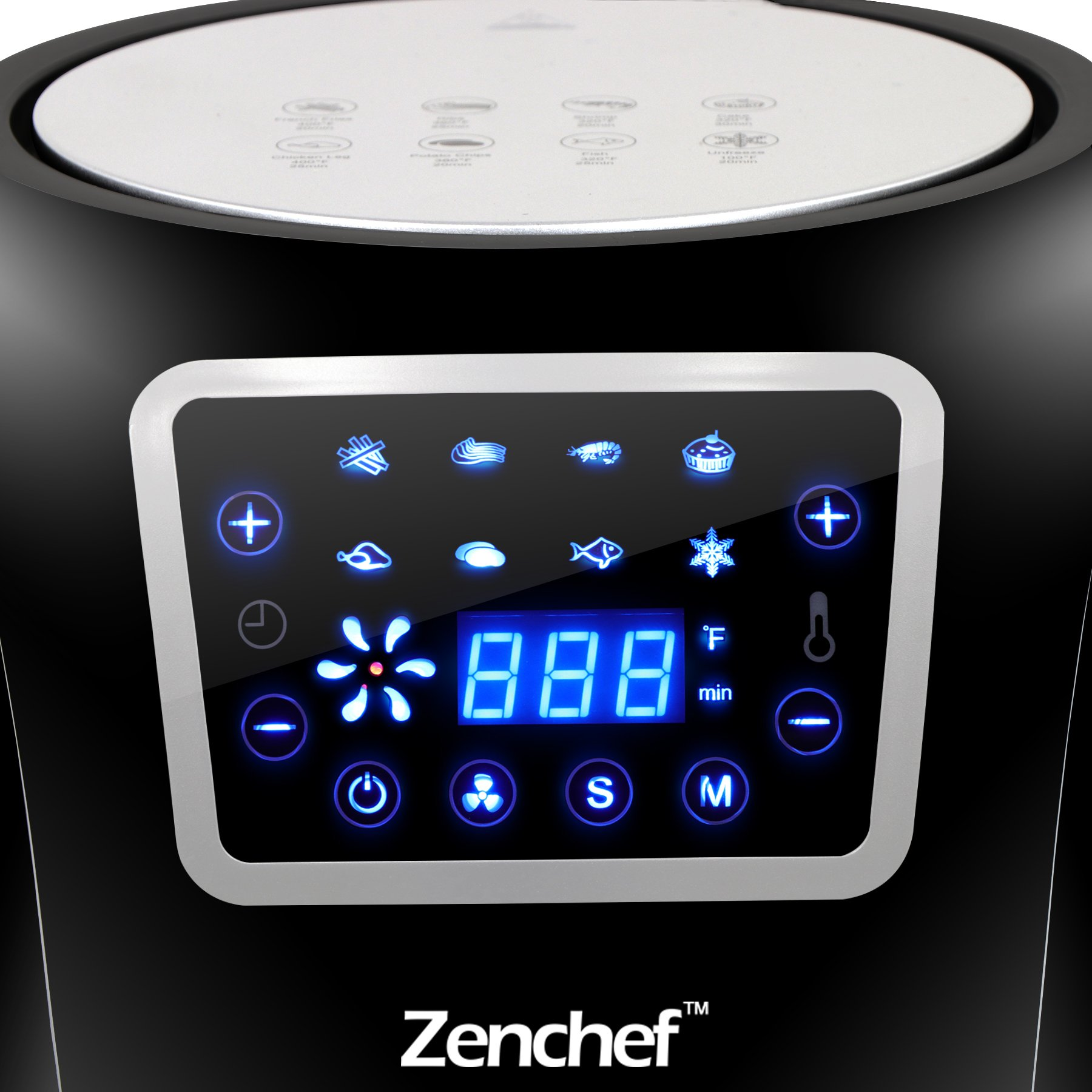 Super Deal Zenchef Pro Xxl Hot Air Fryer Family Size 5 8