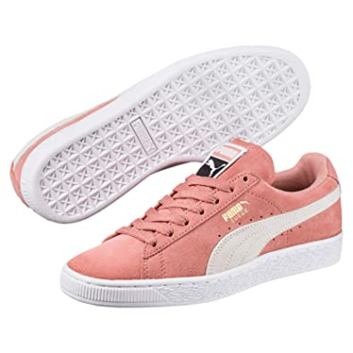 best loved ed5b2 5ae21 Puma Suede Classic Femme Baskets Mode Rose