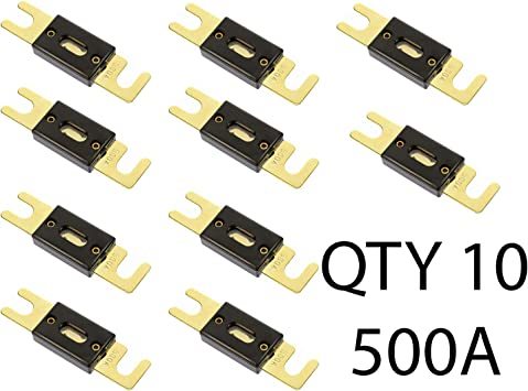 QTY 5 350 Amp ANL Inline Fuse by Voodoo Car Audio For Fuse holder