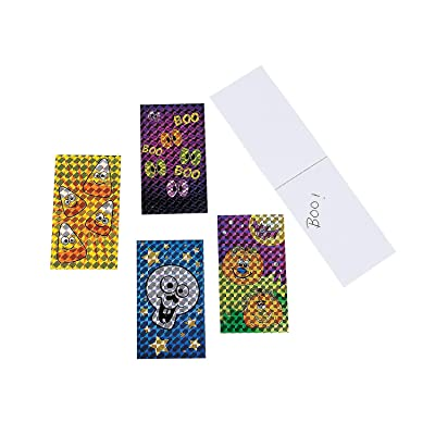 Fun Express - Prism Halloween Notepads (6dz) for Halloween - Stationery - Notepads - Notepads - Halloween - 72 Pieces: Toys & Games