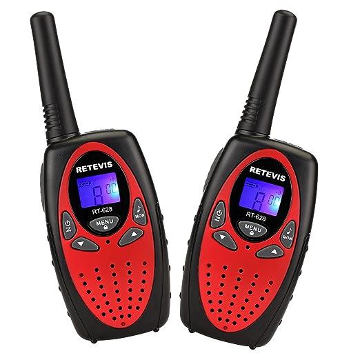 188 opinioni per Retevis RT-628 Walkie Talkie VOX 8 Canali UHF 446MHz Mini Ricetrasmettitore per