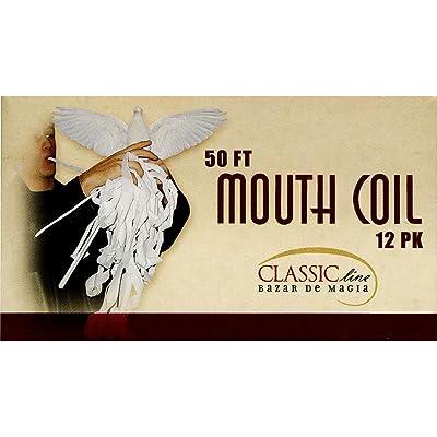 Mouth Coil (12 coils) 50 Ft each By Bazar de Magia - Trick: Toys & Games