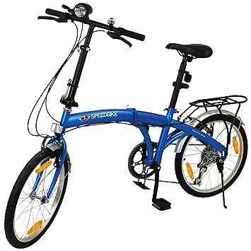 Bicicleta plegable 20 pulgadas con elección de colores – Bicicleta plegable para – Bicicleta plegable –