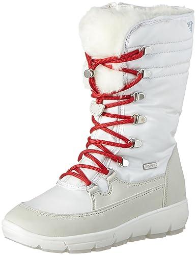 Tamaris Damen 26905 Schneestiefel, Weiß (White), 42 EU
