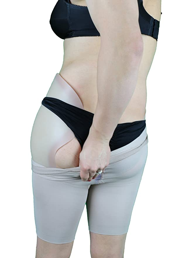 de4de1db62 DressTech Women s Crossdressing Hip Pads - Regular Size - Light Colour   Amazon.co.uk  Beauty