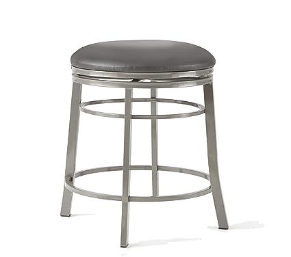 Enjoyable Amazon Com Steve Silver Milo Backless Swivel Counter Stool Alphanode Cool Chair Designs And Ideas Alphanodeonline