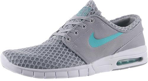 Zapatillas Nike - SB Zoom Stefan Janoski Max Gris Wolf/Azul lite Retro 39: Amazon.es: Zapatos y complementos