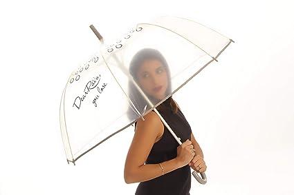 Amazon.com: Usted perder burbuja paraguas, Azul: Jardín y ...