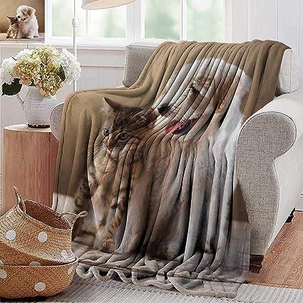 Fantastic Amazon Com Pearlrolan Soft Cozy Throw Blanket Animal Cute Dailytribune Chair Design For Home Dailytribuneorg