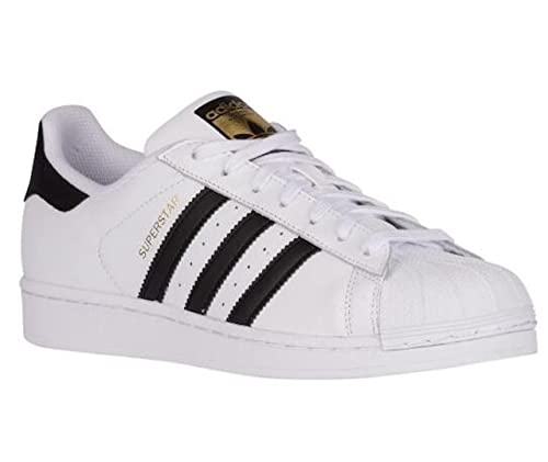 buy popular 3e390 ec97b ADIDAS SUPERSTAR CLASSIC SNEAKERS BIANCO-NERO S81858 - 37-1-3, BIANCO