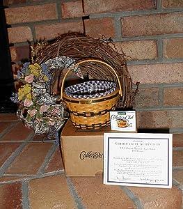 Longaberger 1998 J.W. Collection Miniature Edition Apple Basket