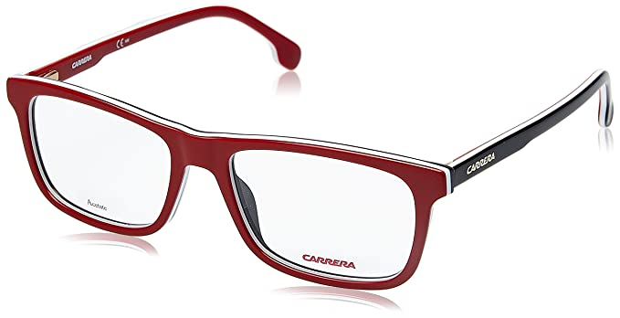 Amazon.com: Carrera 1106/V Eyeglass Frames CA1106-0C9A-5317 - Red ...